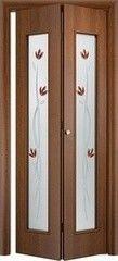 Межкомнатная дверь Межкомнатная дверь VERDA С-17(ф) Тюльпан (книжка)