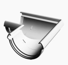 Водосточная система Docke Lux Угловой элемент 90° (пломбир)