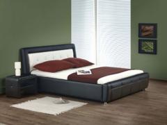 Кровать Кровать Halmar Samanta P (черно-белый)