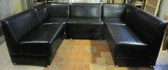 Мебель для баров, кафе и ресторанов Азиндор Диван П-образный