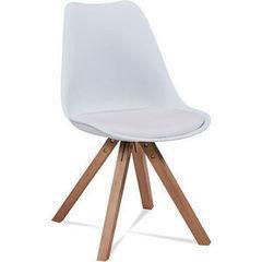 Кухонный стул Atreve Olsen (белый/бук)