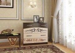 Комод Комод SV-Мебель №4 0127 (дуб млечный/дуб венге)