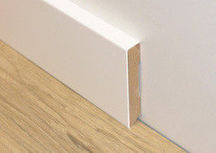Плинтус Плинтус ДвериДом Плоский. Крашеный в любой цвет по каталогу RAL. 70х16