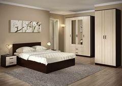 Спальня Настоящая мебель Ронда №2 венге