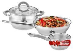 Наборы посуды Lara LR02-110 Bell PROMO 4 пр