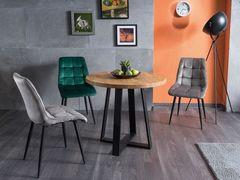 Обеденный стол Обеденный стол Signal Vasco 80 (дуб натуральный/черный)