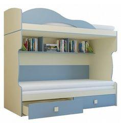 Двухъярусная кровать Горизонт Радуга 2