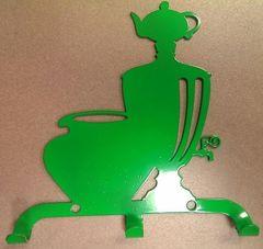 Полкодержатель, крючок Отис-сервис Крючок декоративный Самовар с чугунком (салатовый)