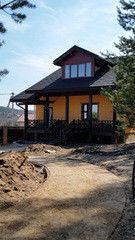 Строительство домов Дом с мансардой СтройСпецПартнер Гостевой домик в п. Раубичи