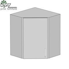 Кухонный шкаф Кухонный шкаф Диприз Шкаф верхний угловой 60 Д 9001-15