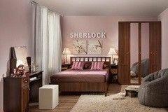 Спальня Глазовская мебельная фабрика Sherlock 3 (орех шоколадный)
