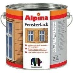 Эмаль Эмаль Alpina Fensterlack 2,5L