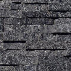 Натуральный камень Натуральный камень АЛЬТЕРфасад 3D панель из сланца Black Quarzite