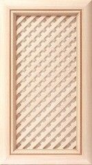 Мебельный фасад Мебельный фасад ЗОВ-Профиль Турин 3 решетка косая ПП Молочный