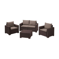 Keter Комплект мебели Калифорния (California 2 Seater) графит