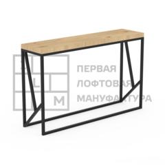 Стол-консоль Стол-консоль 1Loft K-0003 (Сосновый щит)