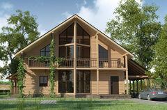 WoodHata Проект дома для отдыха Pr-D-01