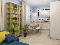 Дизайн квартир и коттеджей ИП Сайдакова Ю.А. Проект 26