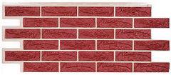 Фасадная панель ТЗК Техоснастка Лондон Брик (красный)