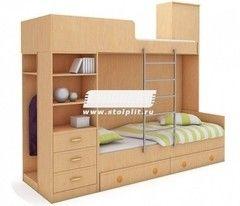 Двухъярусная кровать СтолПлит Симба СН-13
