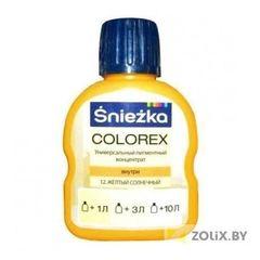 Добавка в краску и лак Sniezka Colorex №12 Солнечно-желтый 0,1л