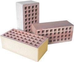 Кирпич Керамический кирпич Керамин Лицевой пустотелый утолщенный (КЛПУ-150, песочный)