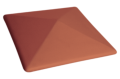 Забор Забор KING KLINKER Шляпа для забора Рубиновый красный 01