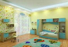 Детская комната Детская комната Феникс Улыбка комплект 1