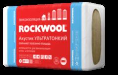 Звукоизоляция Звукоизоляция Rockwool Акустик Ультратонкий