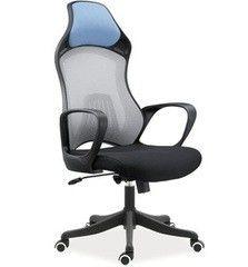 Офисное кресло Офисное кресло Signal Q-218 серо-голубое