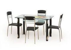 Обеденный стол Обеденный стол Halmar Gotard (черный)