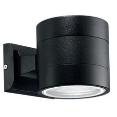 Уличное освещение Ideal Lux Snif Round AP1 Nero
