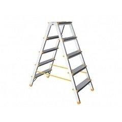 Лестница ITOSS Лестница-стремянка алюминиевая двухсторонняя 98 см 5 ступеней 3,81 кг iTOSS Eurostyl (1925)