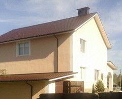 Строительство домов Дом с мансардой ИП Пригожий В.В. Проект коттеджа 6