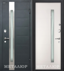 Входная дверь Входная дверь МеталЮр М36 (Белый малибу)