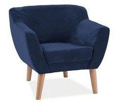 Кресло Кресло Signal Bergen 1 (синий)