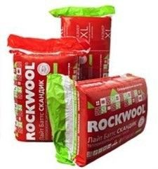 Звукоизоляция Звукоизоляция Rockwool Лайт Баттс Скандик 1200x600x100