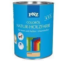 Защитный состав Защитный состав PNZ цветное масло Natur-Holzfarbe (известково-белый, 0.75 л)