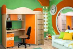 Детская комната Детская комната БелБоВиТ Пример 165