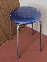 Кухонный стул Алвест Эконом синий/серебро