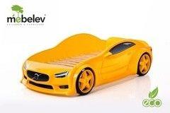 Детская кровать Детская кровать МебеЛев EVO Вольво (желтый)