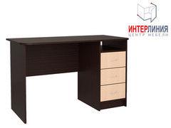 Письменный стол Интерлиния СК-001 Дуб венге+Дуб молочный