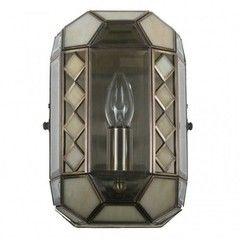 Настенный светильник Citilux Фасет CL441311 Бронза Старая + Бежевый