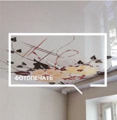 Натяжной потолок Услуга Натяжной потолок с фотопечатью