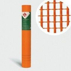 Стеклосетка, серпянка Lihtar Штукатурная оранжевая ССШ-125 (яч.5x5мм, 1x50м)