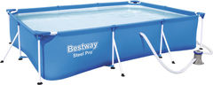 Бассейн Бассейн Bestway 56411 Steel Pro 300x201x66