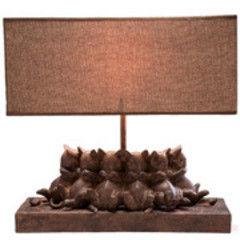 Настольный светильник Kare Table Lamp Sleeping Cats 32777