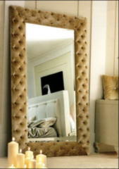 Зеркало Kushetki с мягкой рамой 2