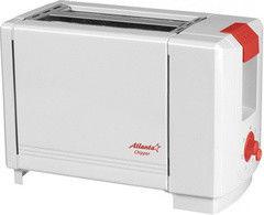Тостер Atlanta Тостер  ATH-231 белый/красный