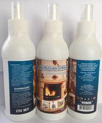 Очиститель ИП Шиманский В.П. Средство для чистки стекол в топочных дверцах от копоти